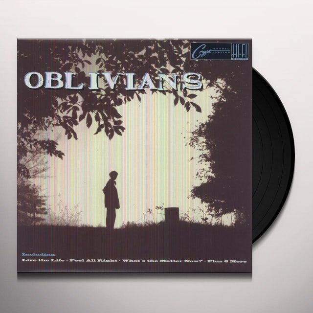 Oblivians PLAY 9 SONGS WITH MR QUINTRON Vinyl Record