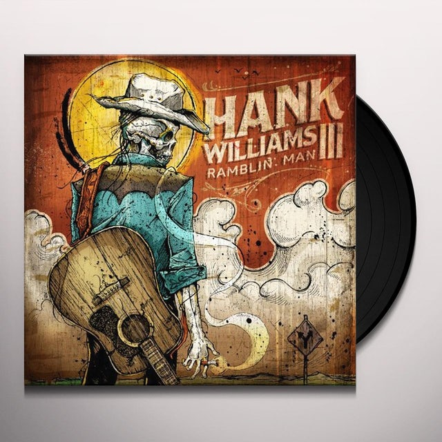 Hank Williams Iii RAMBLIN MAN Vinyl Record