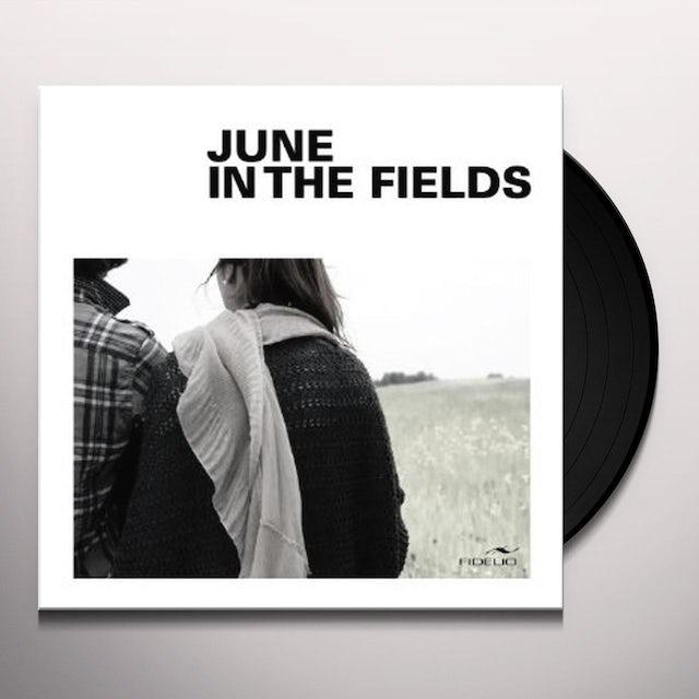 Jeanmichel Renaud / Melissa Brouillette JUNE IN THE FIELDS Vinyl Record