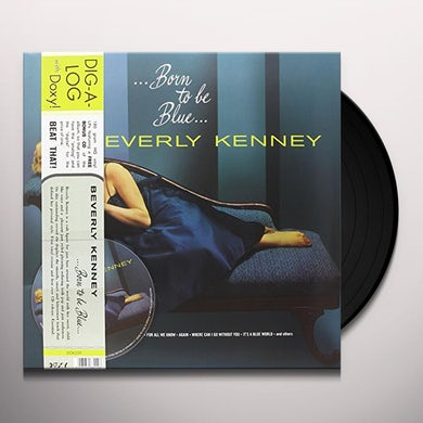 Beverly Kenney BORN TO BE BLUE Vinyl Record