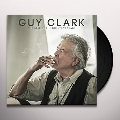 Guy Clark BEST OF THE DUALTONE YEARS Vinyl Record