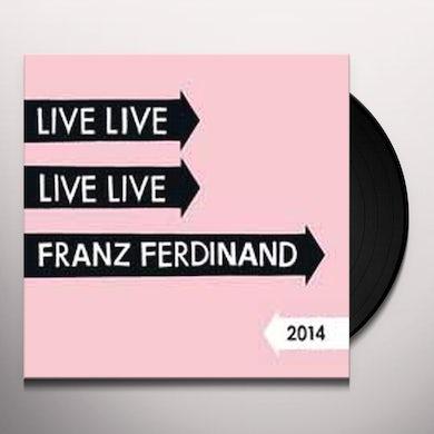Franz Ferdinand LIVE 2014 Vinyl Record
