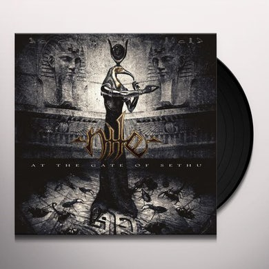 Nile AT THE GATE OF SETHU Vinyl Record
