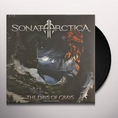 Sonata Arctica DAYS OF GRAYS Vinyl Record