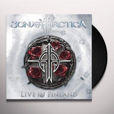 Sonata Arctica LIVE IN FINLAND Vinyl Record