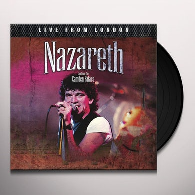 Nazareth LIVE FROM LONDON Vinyl Record