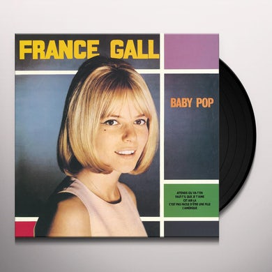 France Gall BABY POP Vinyl Record