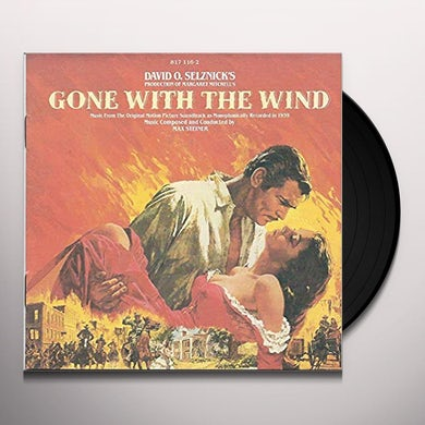 Max Steiner GONE WITH THE WIND / Original Soundtrack Vinyl Record