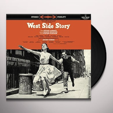 Leonard Bernstein WEST SIDE STORY Vinyl Record