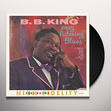 B.B. King EASY LISTENING BLUES Vinyl Record