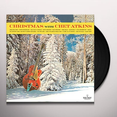CHRISTMAS WITH CHET ATKINS Vinyl Record