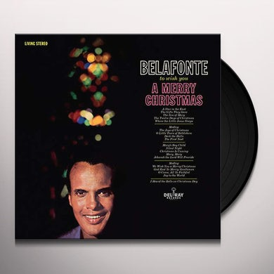 Harry Belafonte TO WISH YOU A MERRY CHRISTMAS Vinyl Record