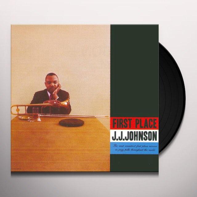 J.J. Johnson FIRST PLACE Vinyl Record
