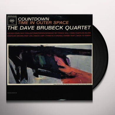 Dave Brubeck COUNTDOWN TIME IN OUTER SPACE Vinyl Record