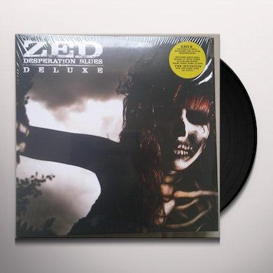 Zed DESPERATION BLUES Vinyl Record