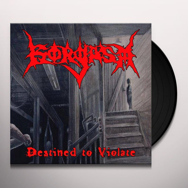 Gorgasm DESTINED TO VIOLATE Vinyl Record