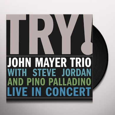 John Mayer TRY: LIVE IN CONCERT Vinyl Record