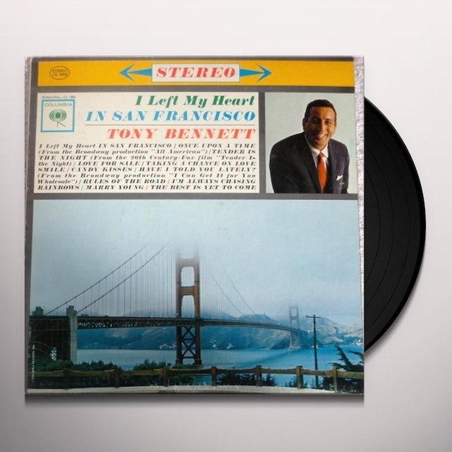 Tony Bennett I LEFT MY HEART IN SAN FRANCISCO Vinyl Record