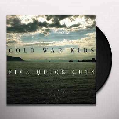 Cold War Kids FIVE QUICK CUTS Vinyl Record