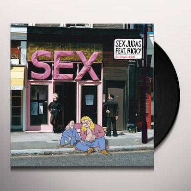 Sex Judas & Ricky GO DOWN JUDAS Vinyl Record