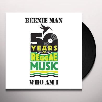 Beenie Man WHO AM I Vinyl Record