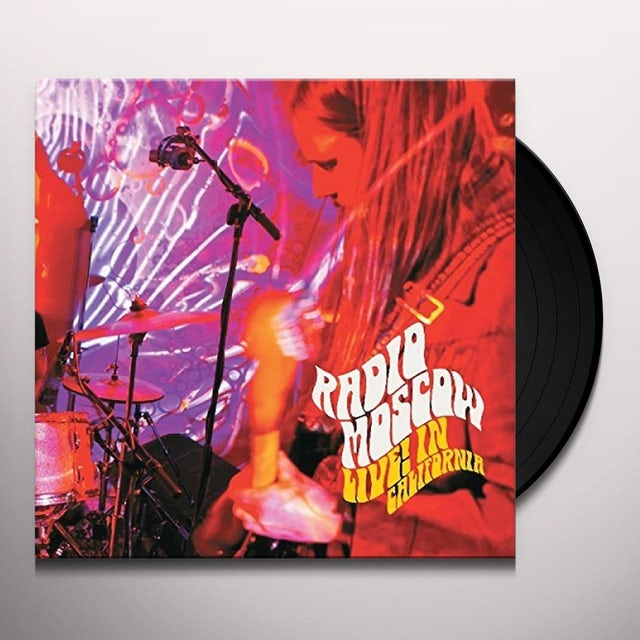 Radio Moscow LIVE IN CALIFORNIA Vinyl Record