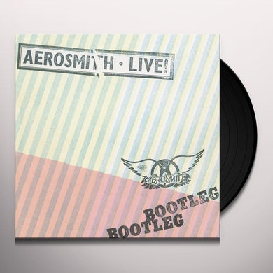Aerosmith LIVE BOOTLEG Vinyl Record