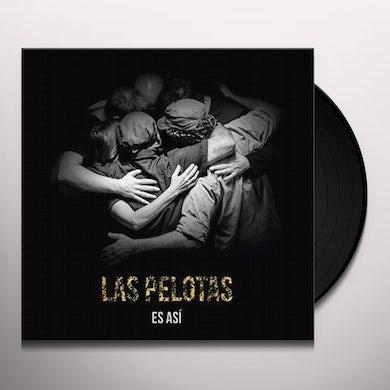 Las Pelotas ES ASI Vinyl Record