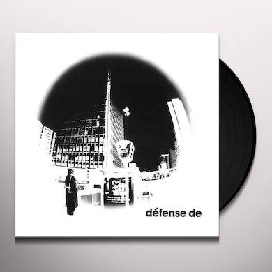 Birge / Gorge / Shiroc DEFENSE DE Vinyl Record