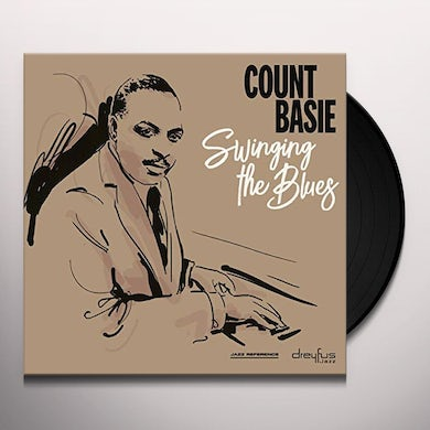 Count Basie SWINGING THE BLUES Vinyl Record
