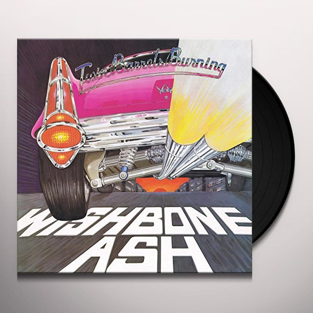 Wishbone Ash TWIN BARRELS BURNING Vinyl Record