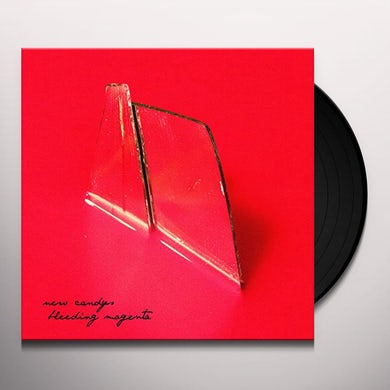 New Candys BLEEDING MAGENTA Vinyl Record