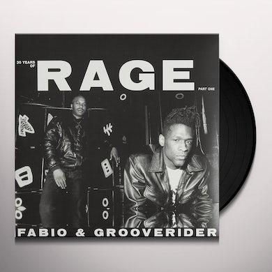 Fabio & Grooverider 30 YEARS OF RAGE PART 1 Vinyl Record