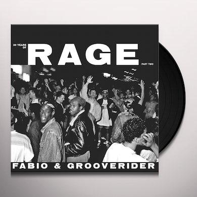 Fabio & Grooverider 30 YEARS OF RAGE PART 2 Vinyl Record
