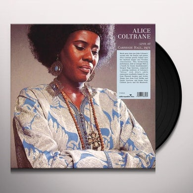 Alice Coltrane AFRICA LIVE AT THE CARNEGIE HALL Vinyl Record