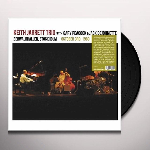 Keith Jarrett BERWARDHALLEN, STOCKHOLM OCTOBER 3RD 1989 Vinyl Record