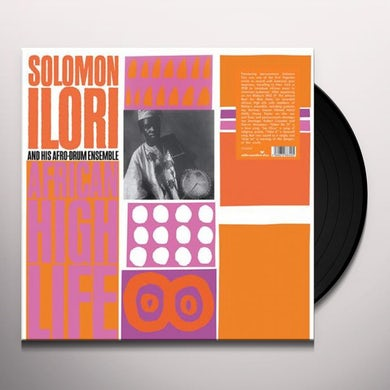 Solomon Ilori / Afro-Drum Ensemble AFRICAN HIGH LIFE Vinyl Record