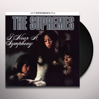 The Supremes I HEAR A SYMPHONY Vinyl Record - 180 Gram Pressing, Reissue