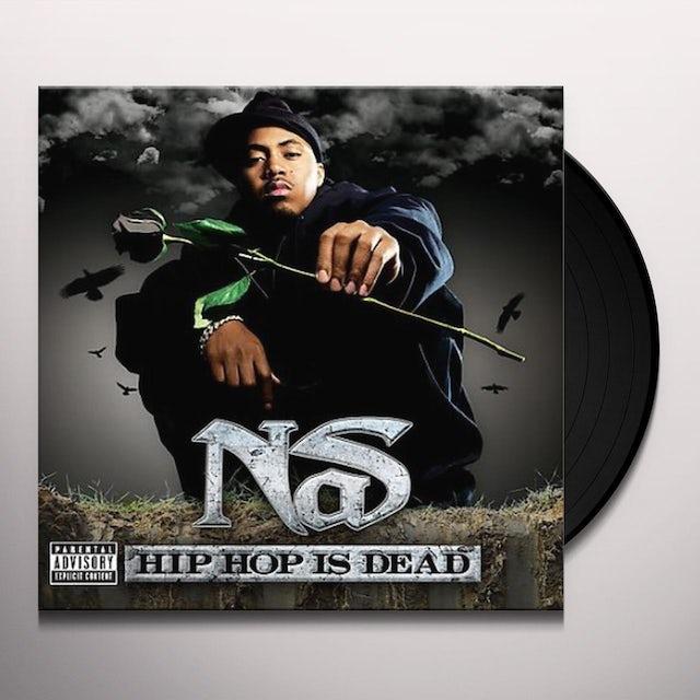 Nas HIP HOP IS DEAD Vinyl Record
