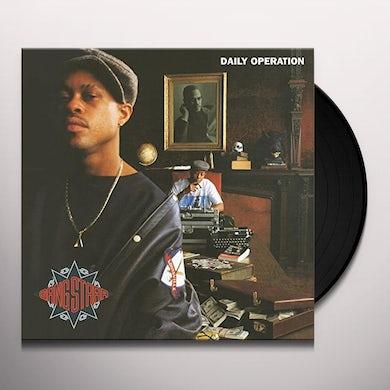 Gang Starr DAILY OPERATION Vinyl Record