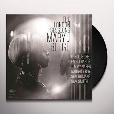 Mary J. Blige LONDON SESSIONS Vinyl Record