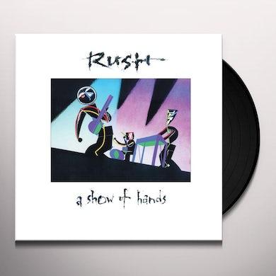 Rush A Show Of Hands (2 LP) Vinyl Record
