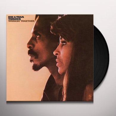 Ike & Tina Turner WORKIN TOGETHER Vinyl Record