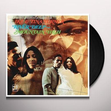 Ike & Tina Turner RIVER DEEP - MOUNTAIN HIGH Vinyl Record