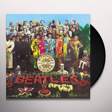 The Beatles Sgt. Pepper's Lonely Hearts Club Band (LP)(2017 Stereo Mix) Vinyl Record