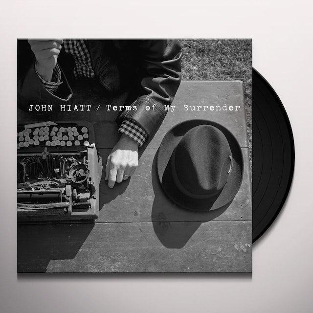John Hiatt TERMS OF MY SURRENDER Vinyl Record