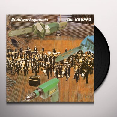 Die Krupps STAHLWERKSYNFONIE Vinyl Record