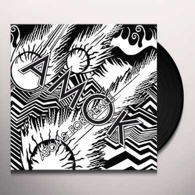 Atoms For Peace AMOK-LIMITED DELUXE EDITION (LP) Vinyl Record