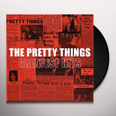 The Pretty Things GREATEST HITS Vinyl Record
