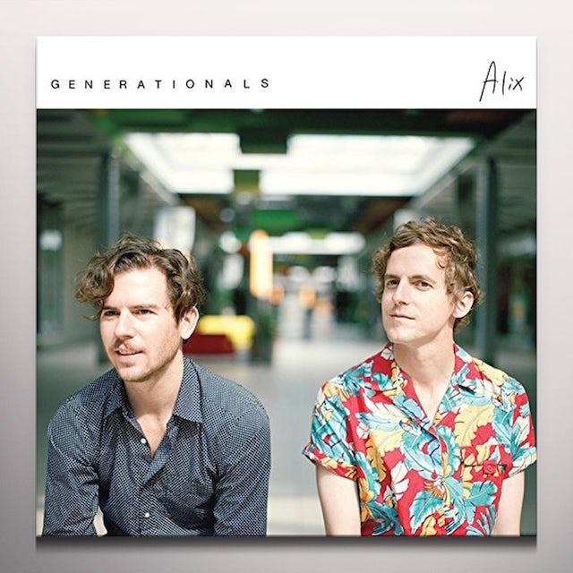 Generationals ALIX Vinyl Record